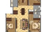 D户型四室两厅两卫130.81㎡