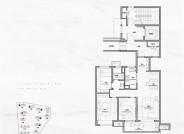 A户型约104㎡三室两厅一卫